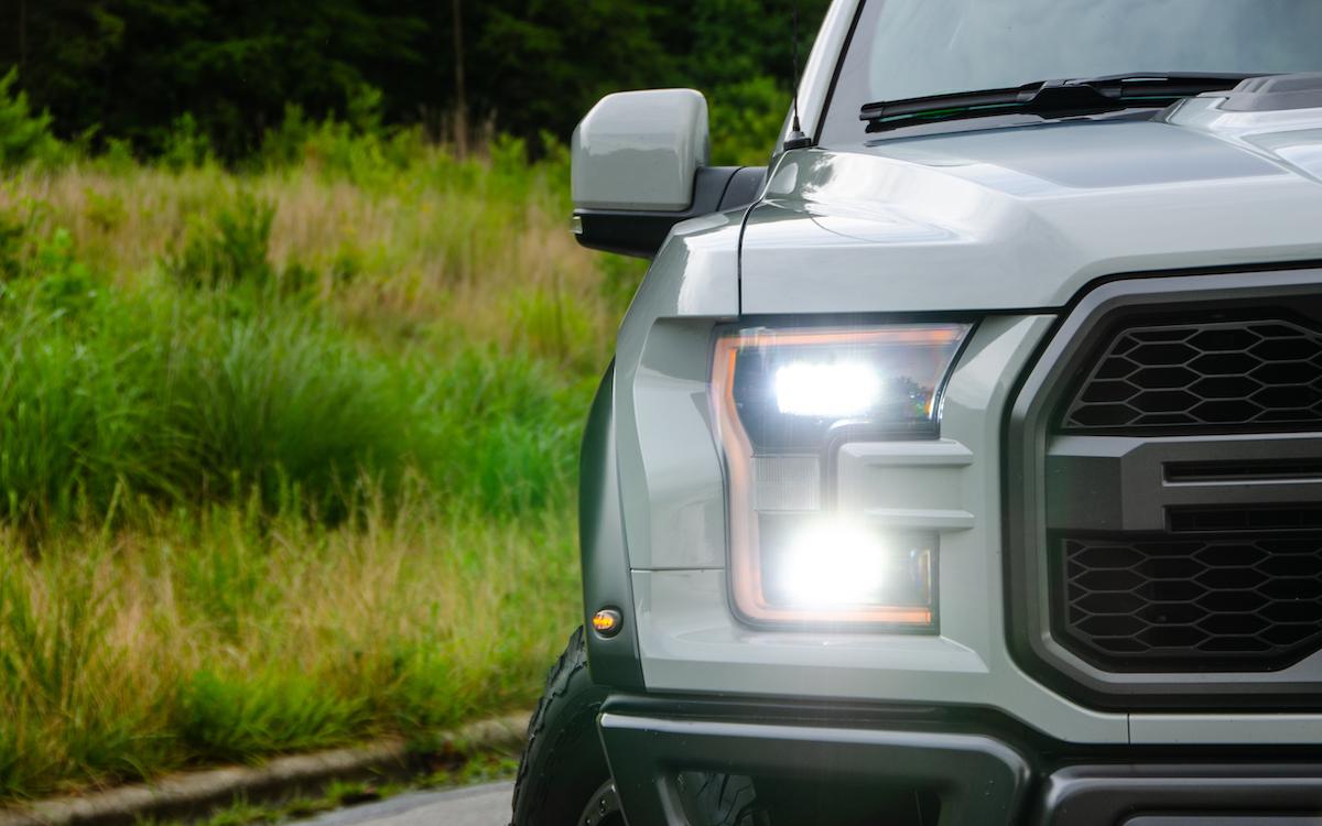 White 2018 Ford150 Raptor
