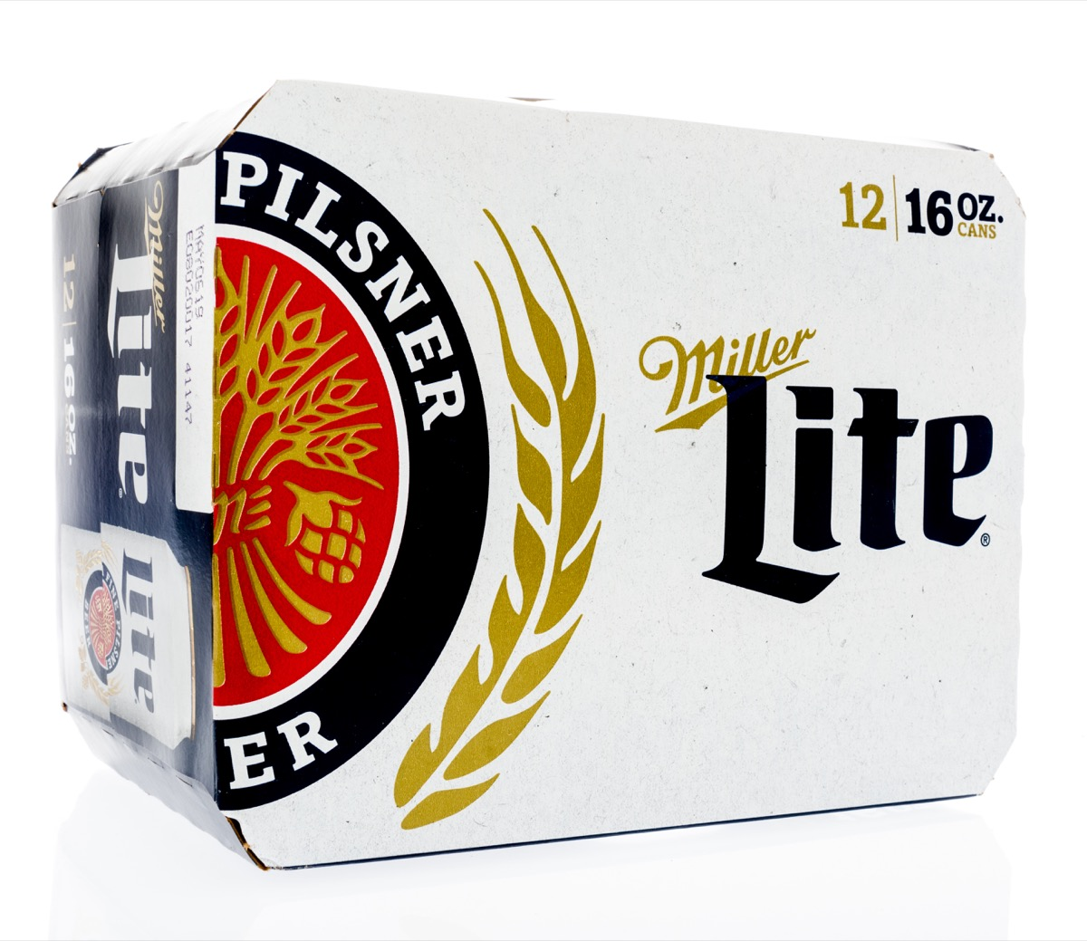 pack of miller light beer