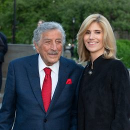 Tony Bennett and wife Susan Benedetto