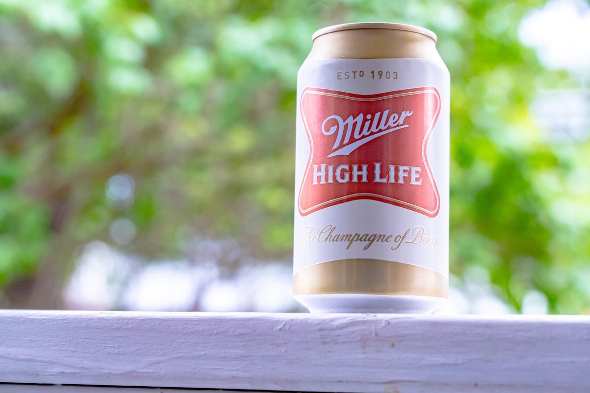 miller high life can