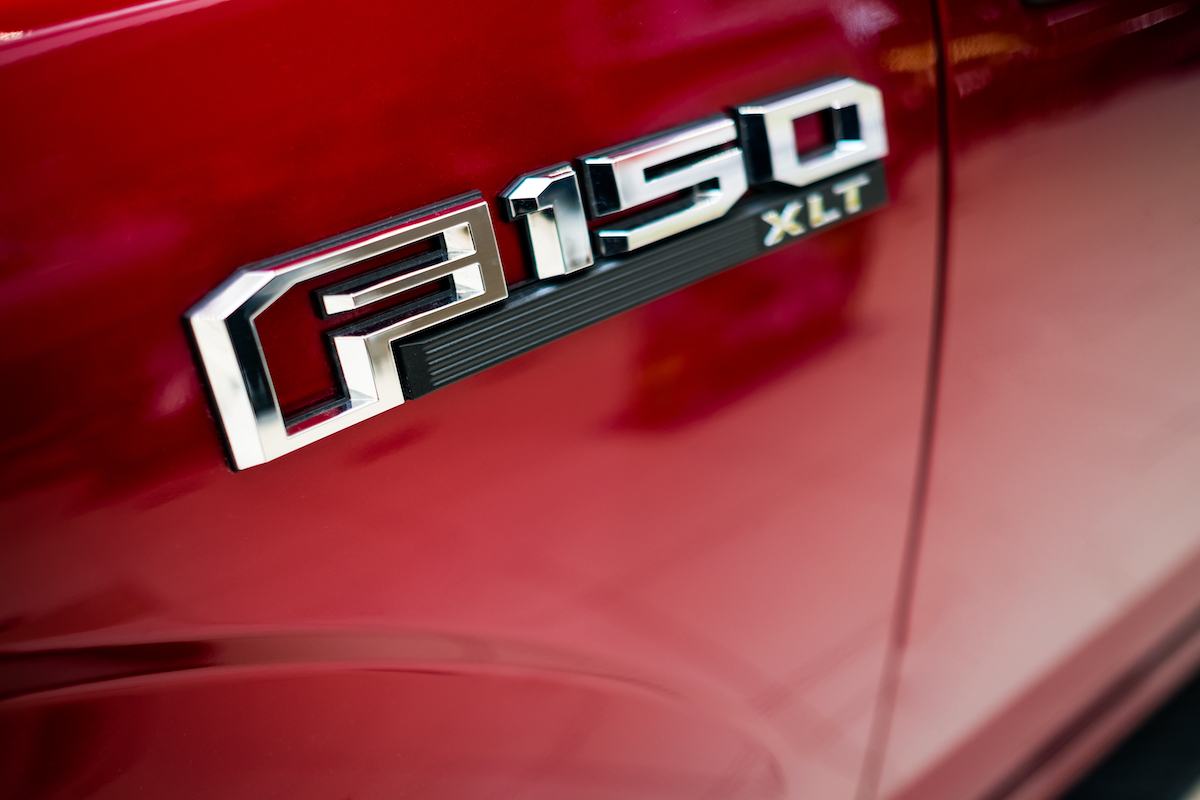 Red Ford F-150 logo