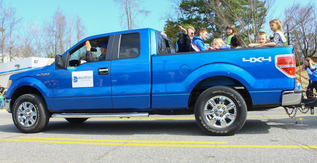 BlueFord pickup truck