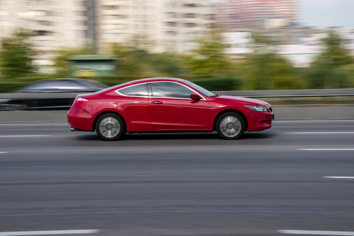 2020 red Honda Accord