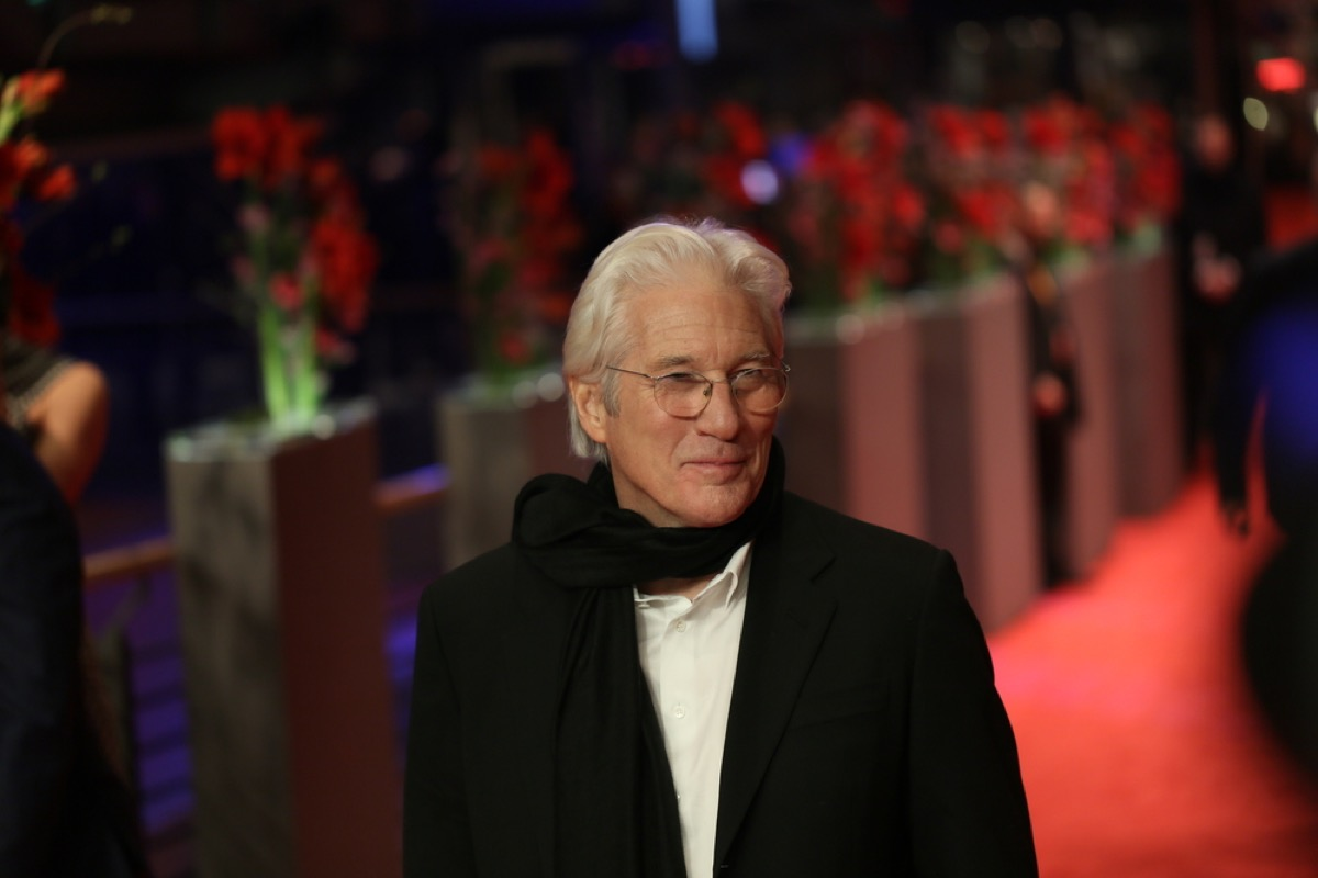 richard gere on the red carpet