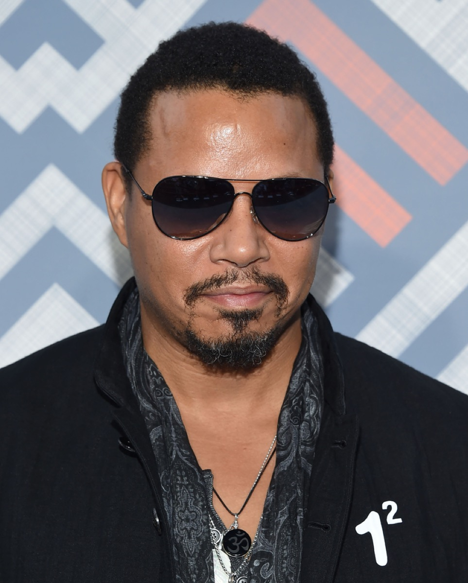 terrence howard on the red carpet