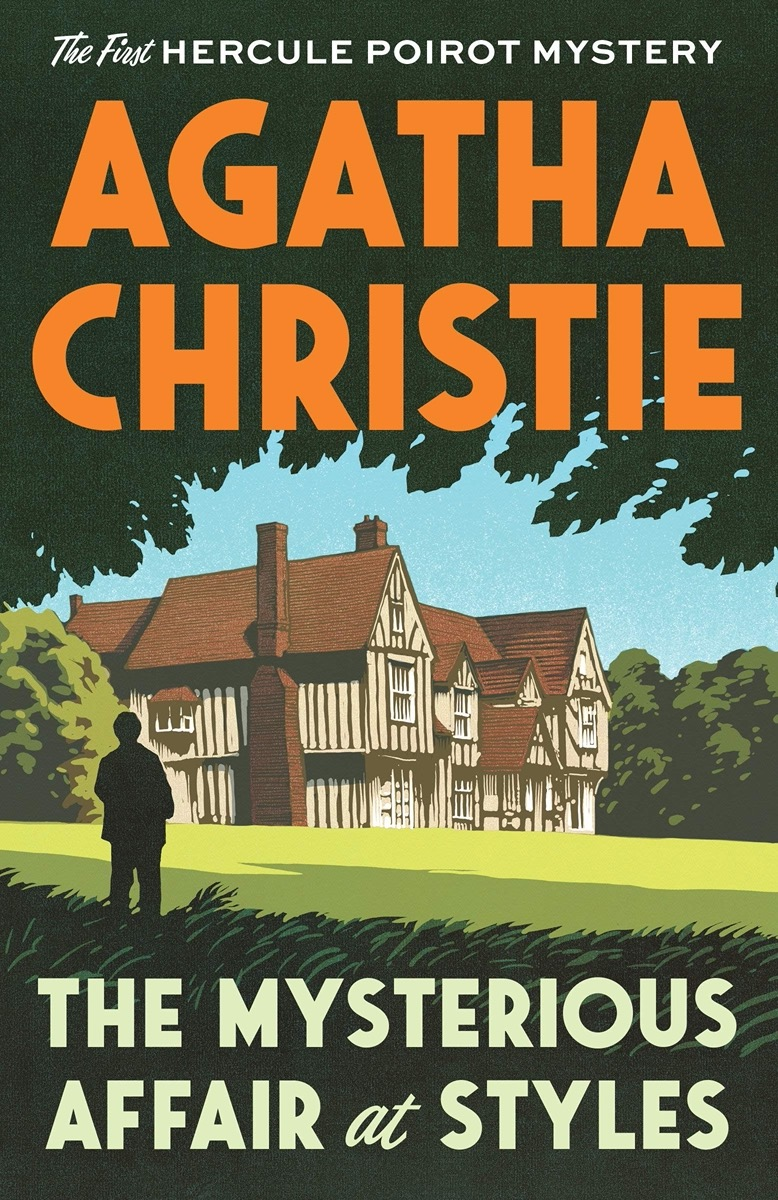 """book cover of """"The Mysterious Affair at Styles"""" by Agatha Christie"""