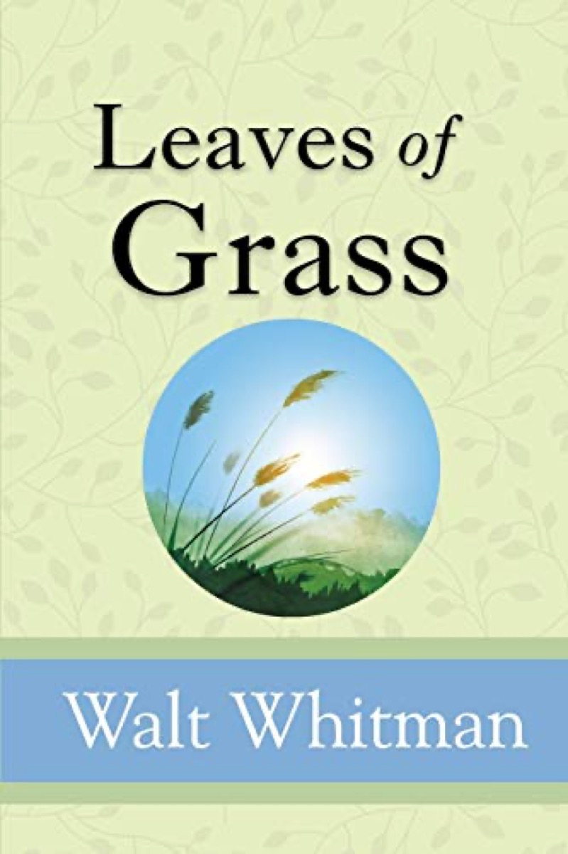 """book cover of """"Leaves of Grass"""" by Walt Whitman"""