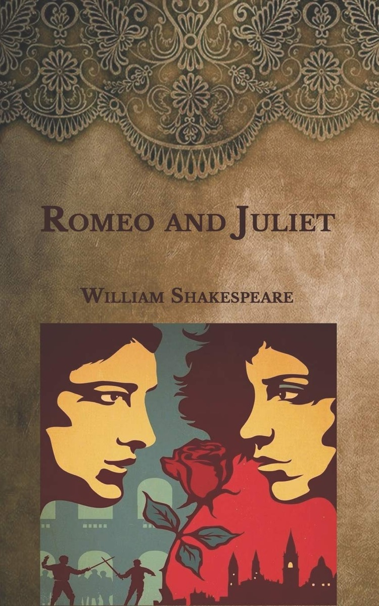 """Book cover of """"Romeo and Juliet"""" by William Shakespeare"""