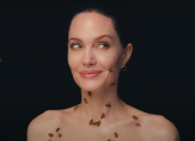 """Angelina Jolie covered in bees for her """"National Geographic"""" photoshoot"""