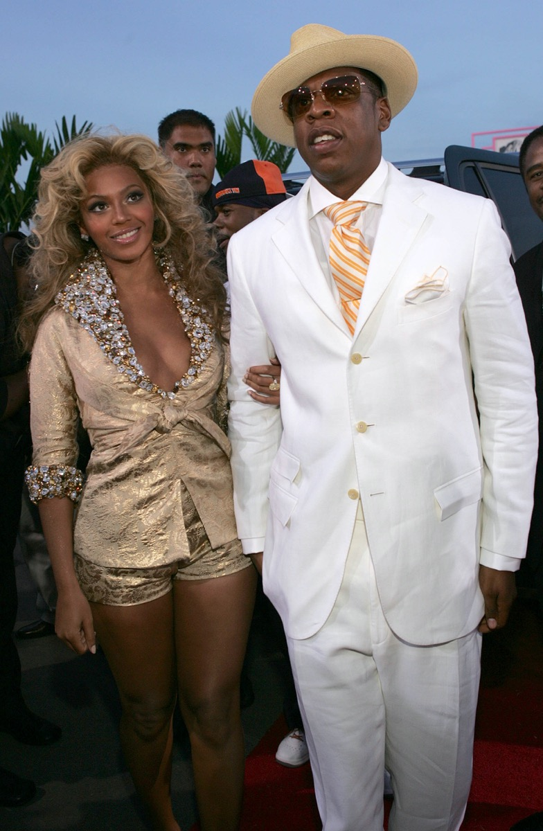 Beyonce and Jay-Z in 2004