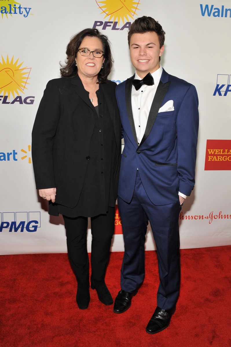 Rosie O'Donnell and son Blake O'Donnell