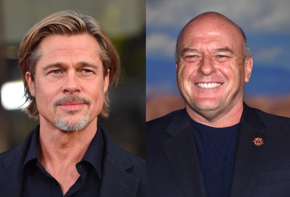 Brad Pitt and Dean Norris