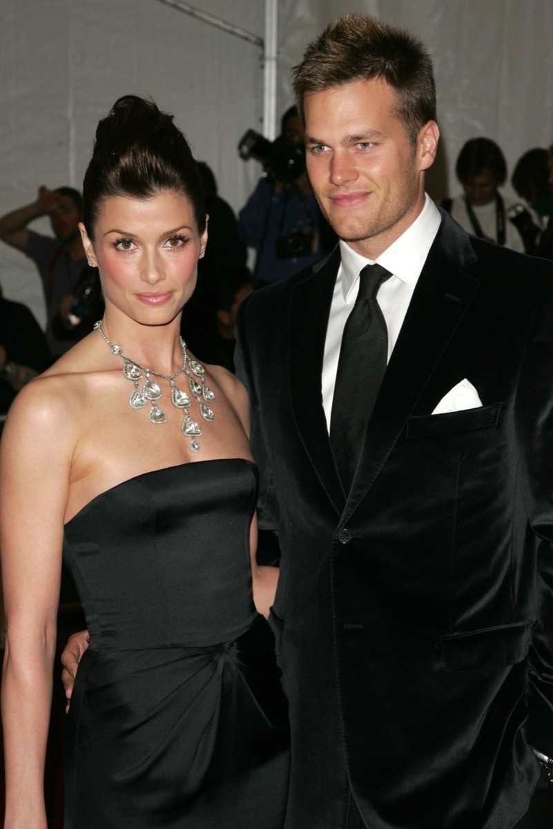 Bridget Moynahan and Tom Brady in 2006