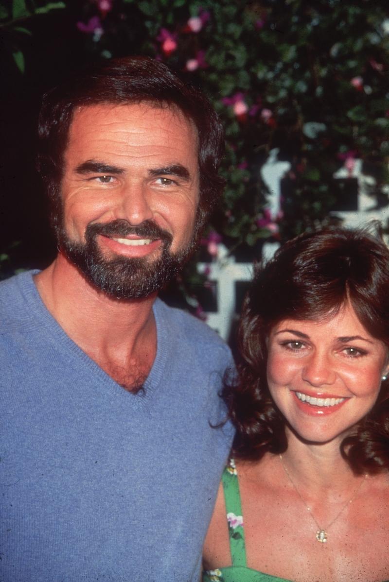Burt Reynolds and Sally Field in 1977