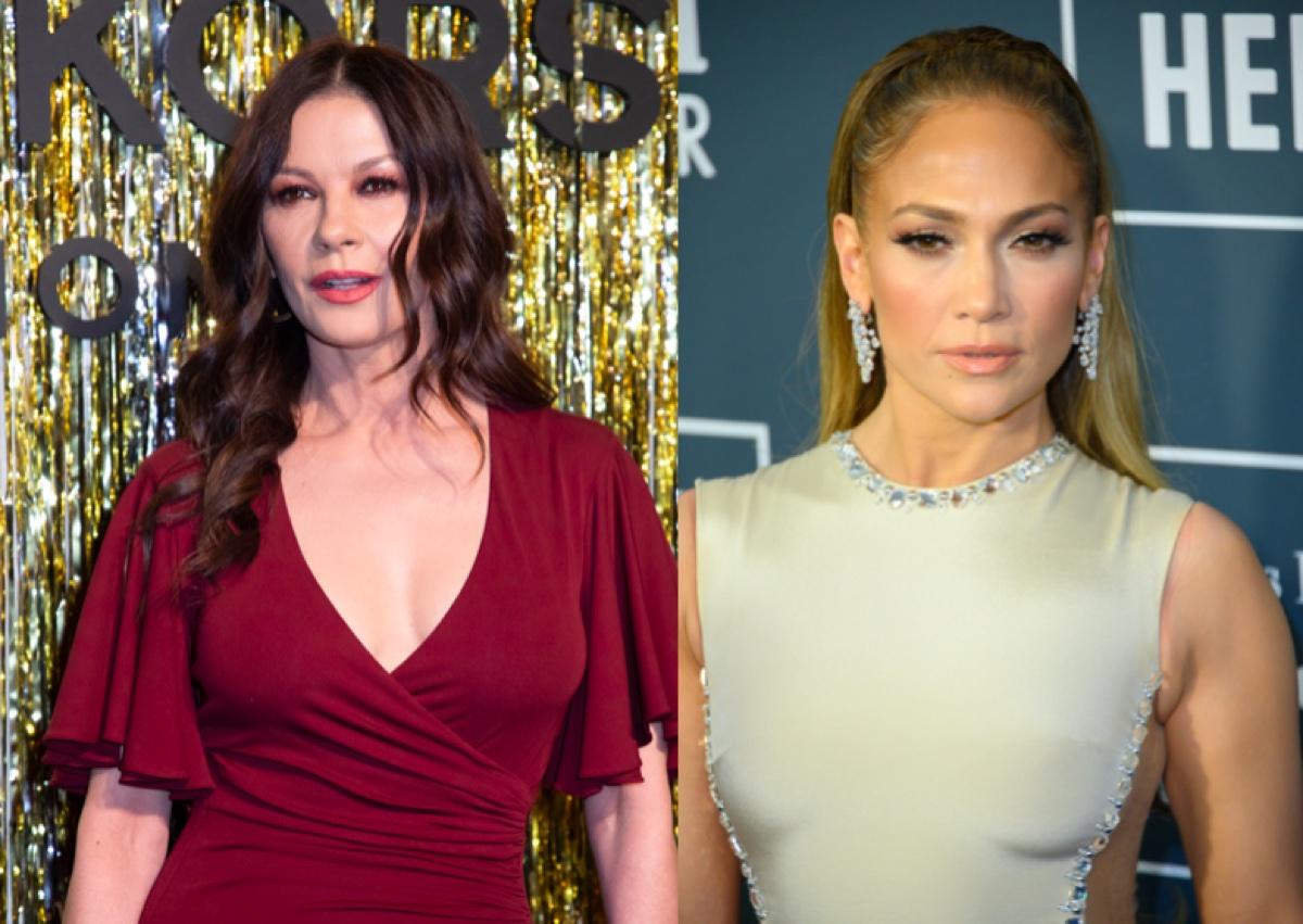 Cathrine Zeta-Jones and Jennifer Lopez
