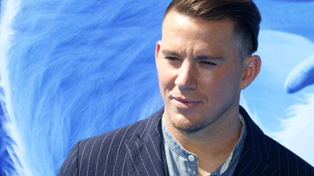 """Channing Tatum at the premiere of """"Smallfoot"""" in 2018"""