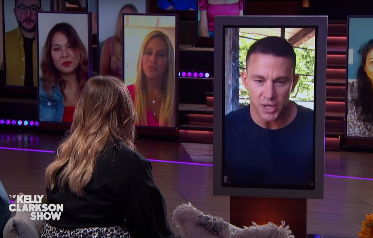 """Channing Tatum on """"The Kelly Clarkson"""" Show"""