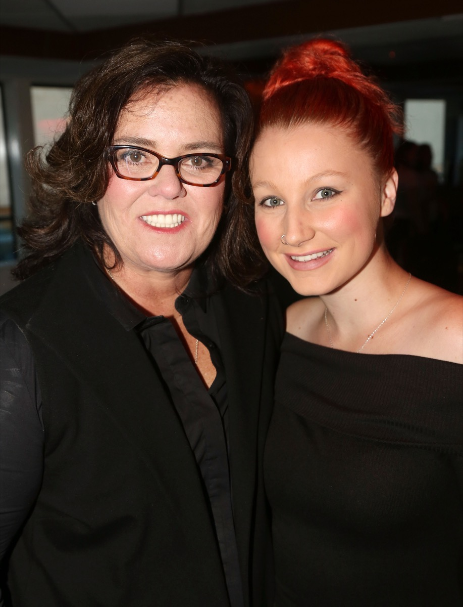 Rosie O'Donnell and daughter Chelsea O'Donnell