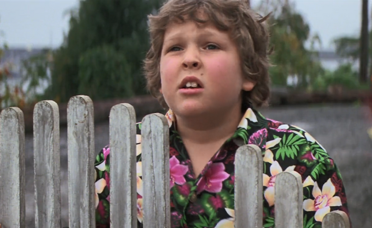 """Jeff Cohen as Chunk in """"The Goonies"""