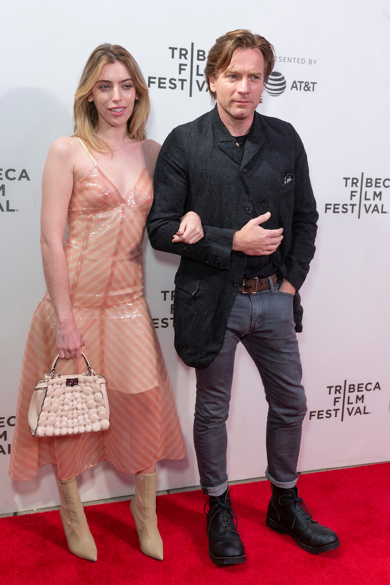 Clara and Ewan McGregor at the Tribeca Film Festival in 2018