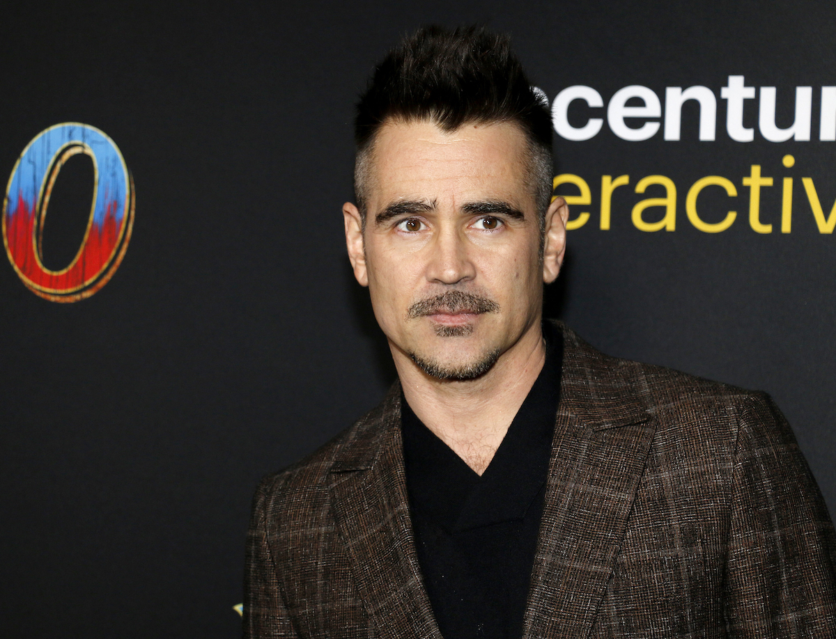 """Colin Farrell at the premiere of """"Dumbo"""" in 2019"""