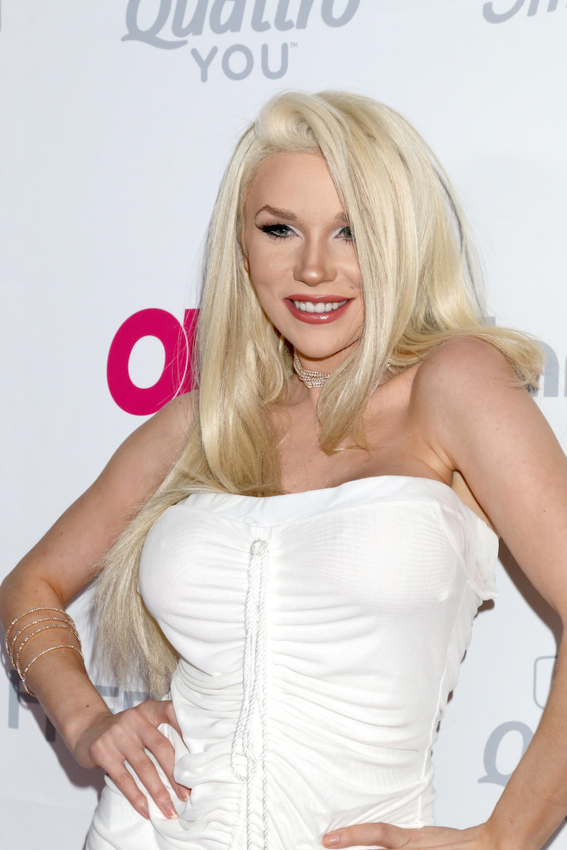 Courtney Stodden at the OK! Magazine Summer Kick-Off Party in 2017