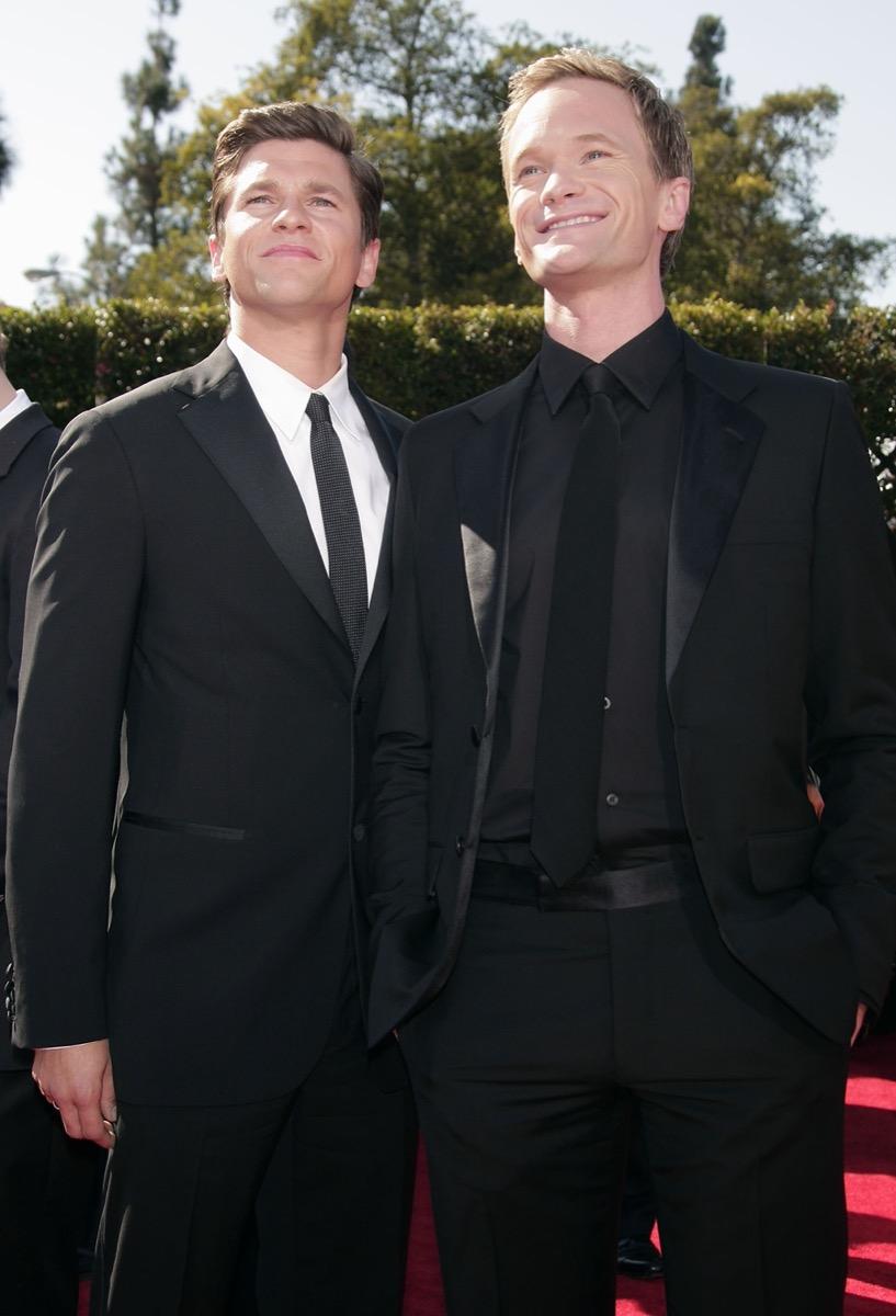 David Burtka and Neil Patrick Harris in 2007