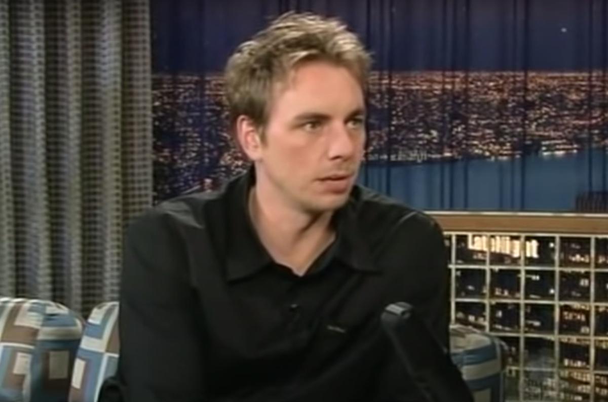 "Dax Shepard on ""Late Night with Conan O'Brien"" in 2004"