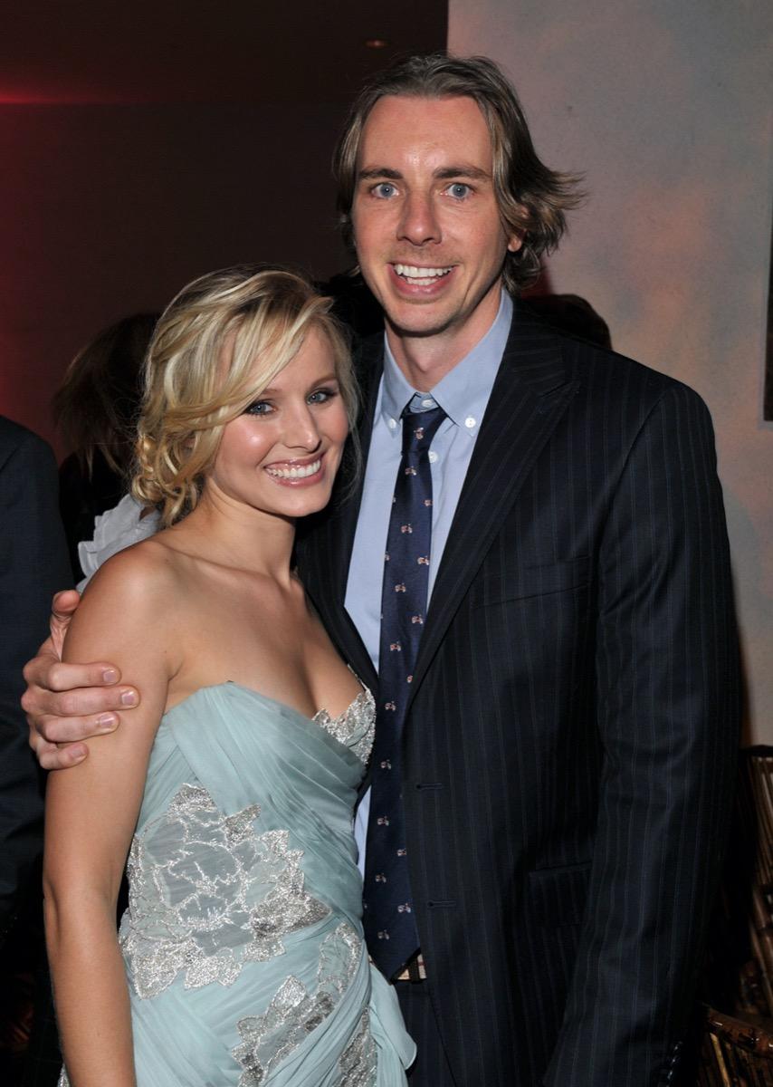 Kristen Bell and Dax Shepard in 2009