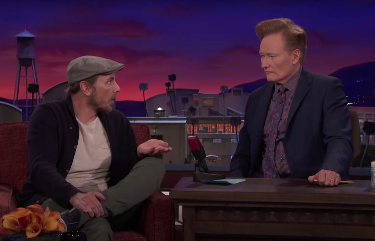 """Dax Shepard on """"Conan"""" in 2018"""