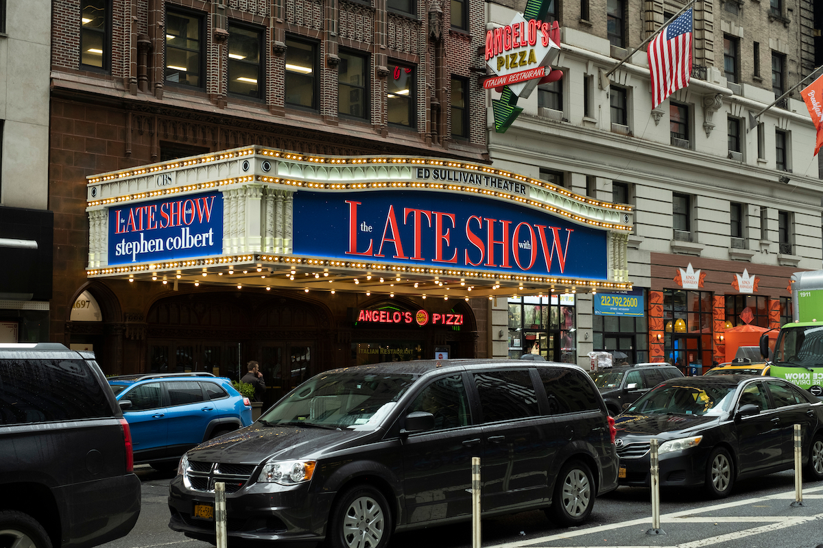 The Ed Sullivan Theater in New York City in February 2020