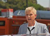 Ellen DeGeneres in 2012 at Walk of Fame ceremony