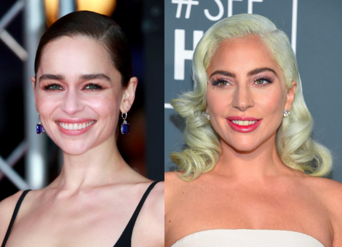 Emilia Clarke and Lady Gaga