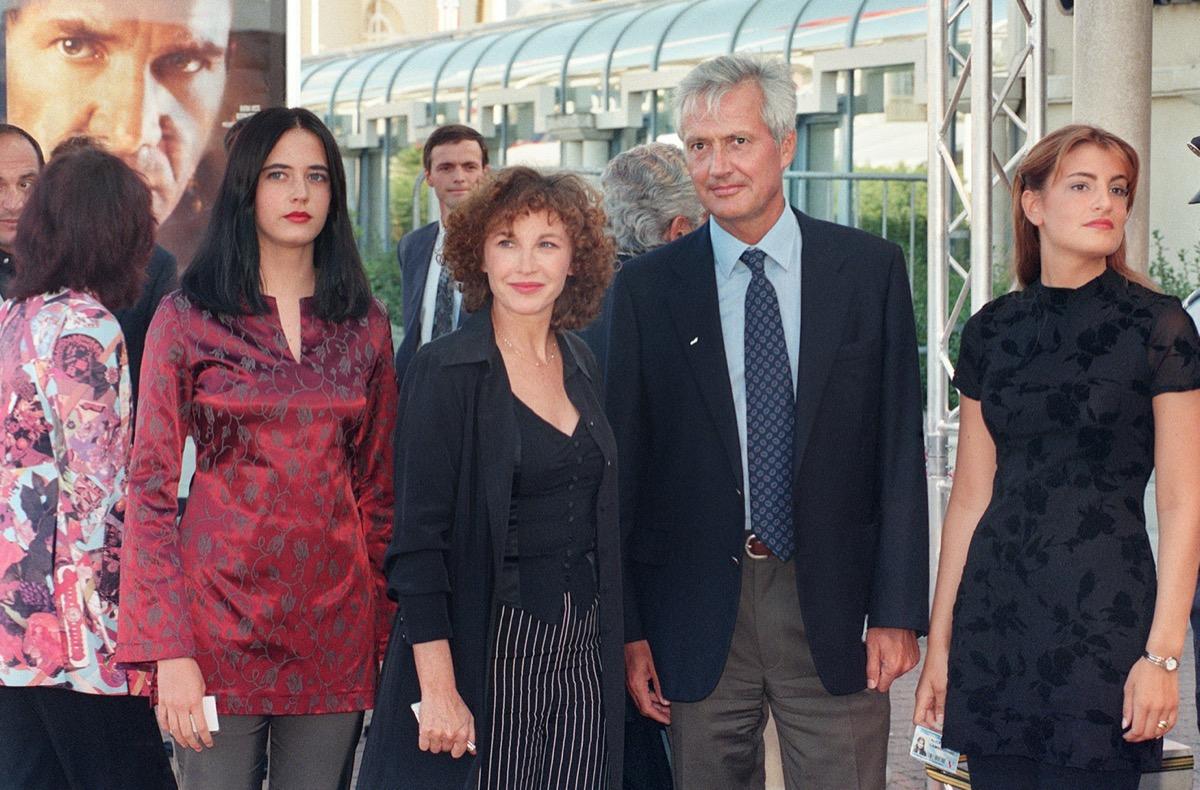 Eva Green, Marlene Jobert, Walter Green, and Joy Green