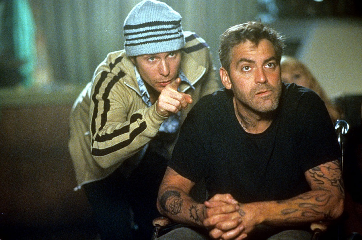 george clooney in welcome to collinwood