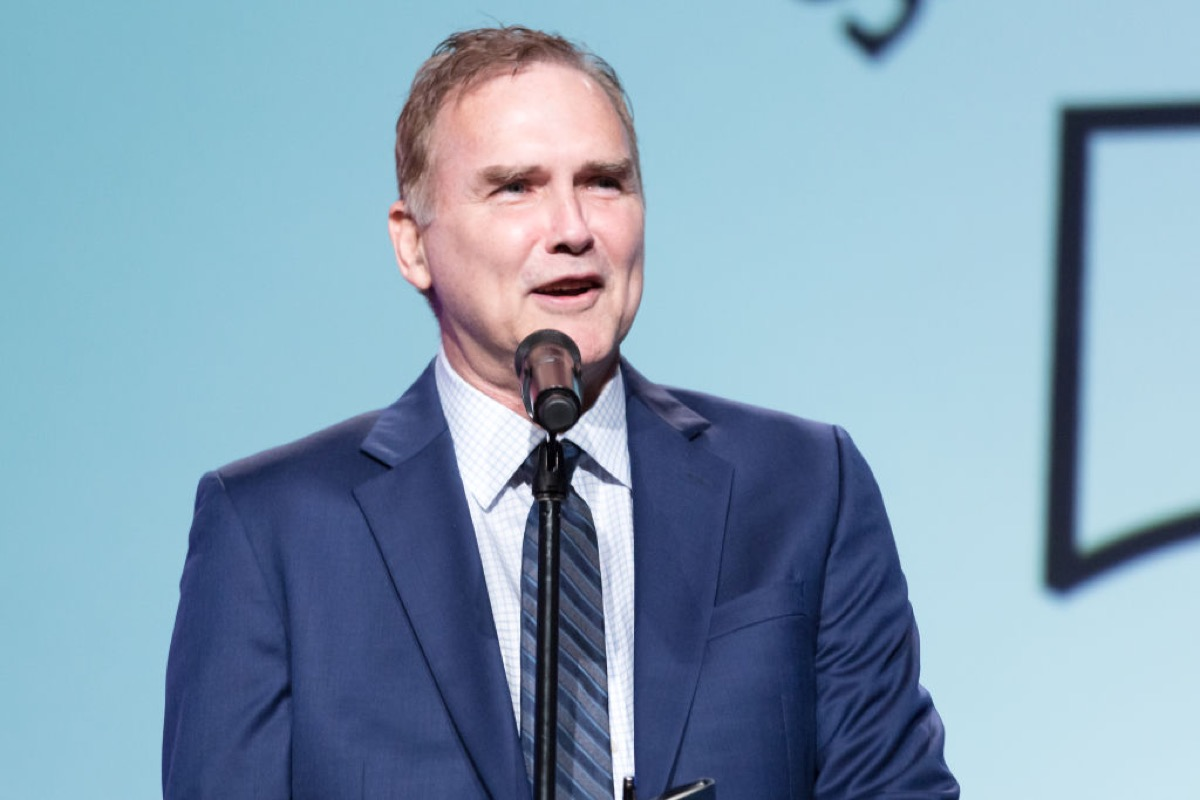 norm macdonald speaking at an event