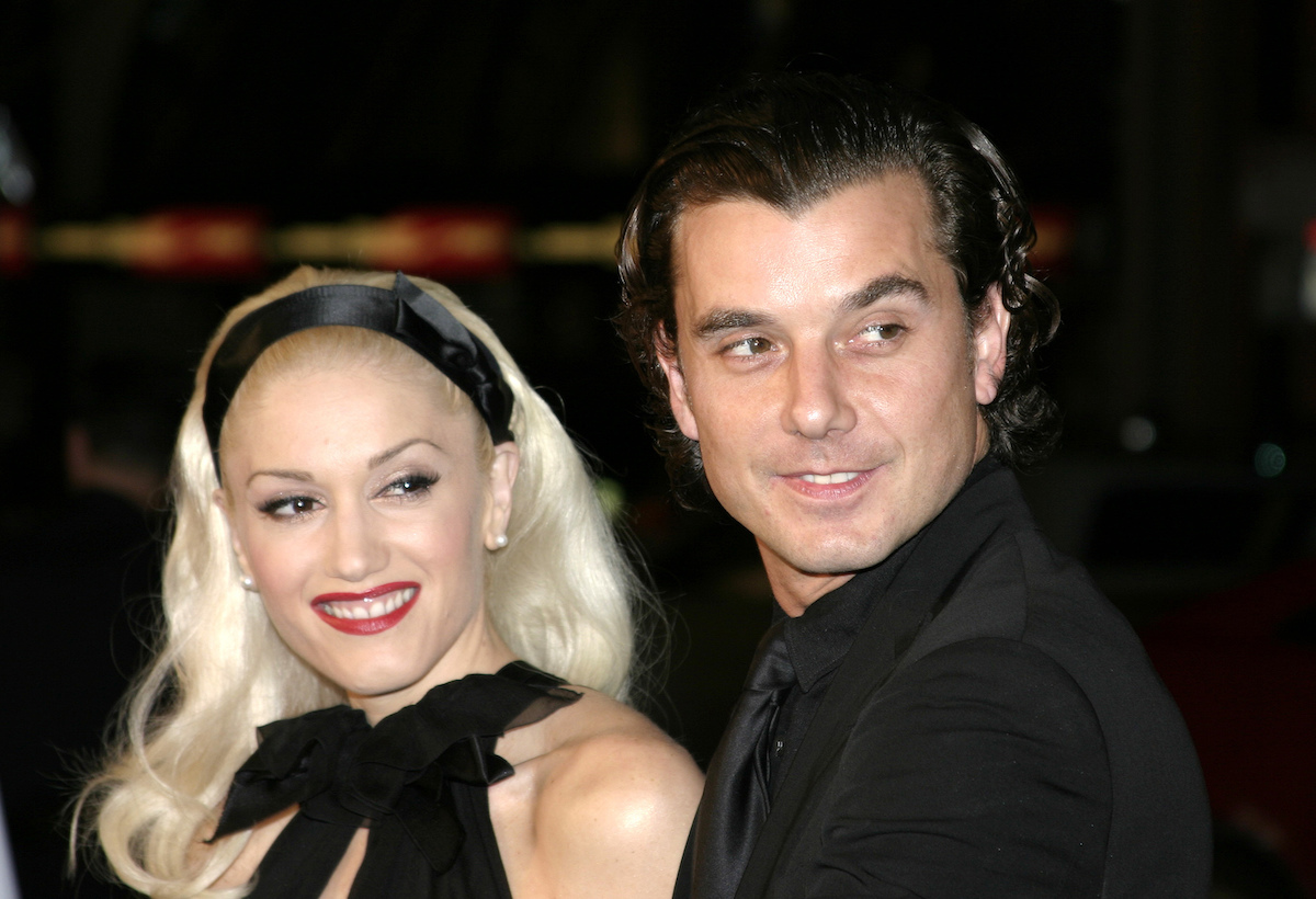 """Gwen Stefani and Gavin Rossdale at the premiere of """"Constantine"""" in 2005"""