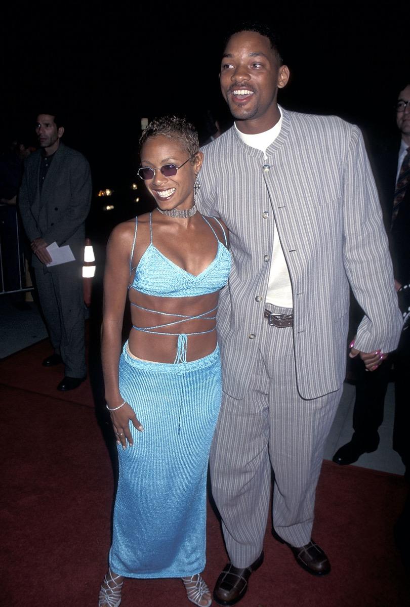 Jada Pinkett and Will Smith in 1995