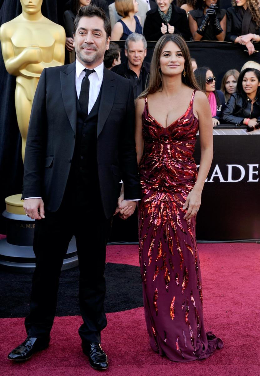 Javier Bardem and Penelope Cruz in 2011
