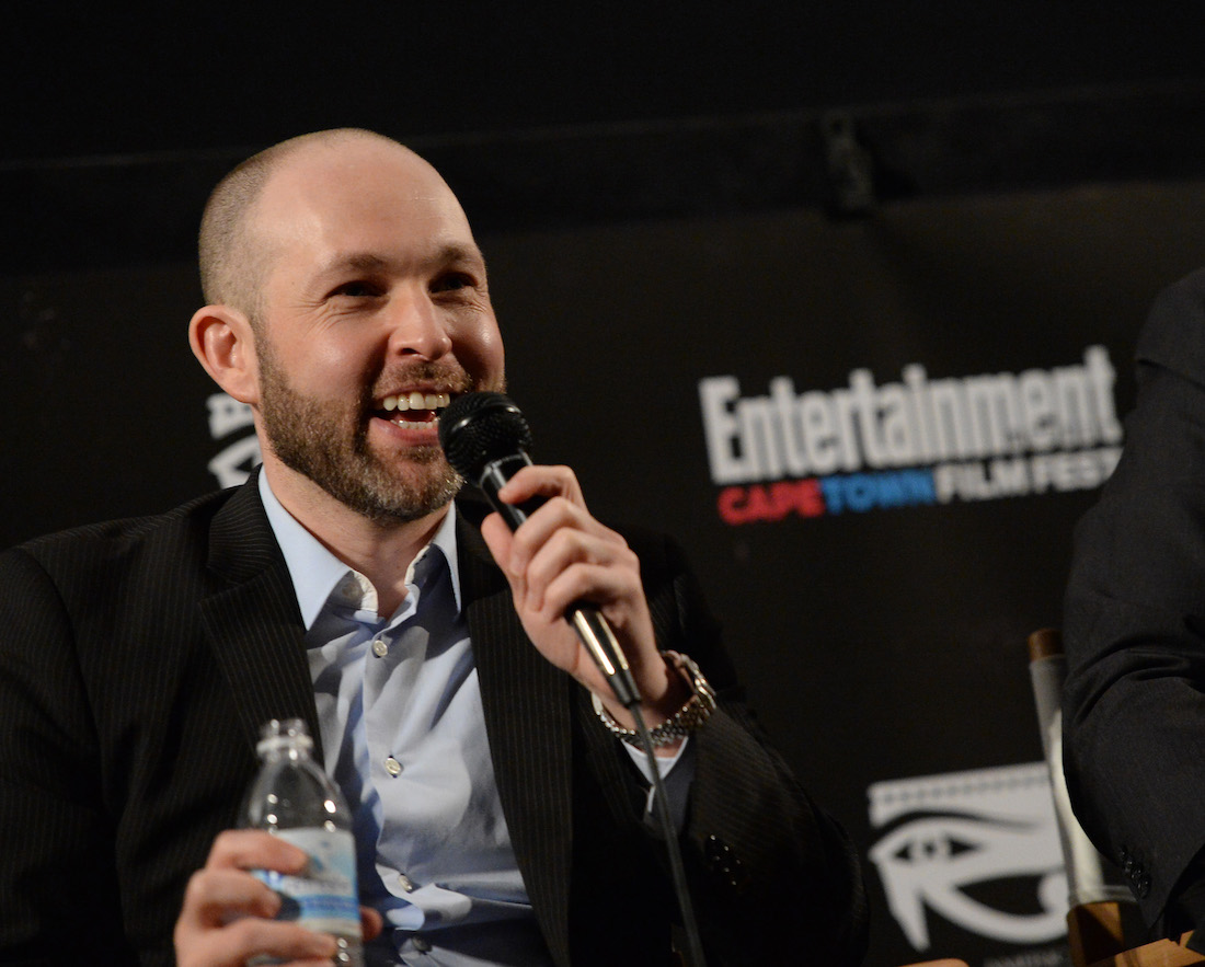 """Jeff Cohen at a screening of """"The Goonies"""" at Entertainment Weekly's CapeTown Film Festival in 2013"""