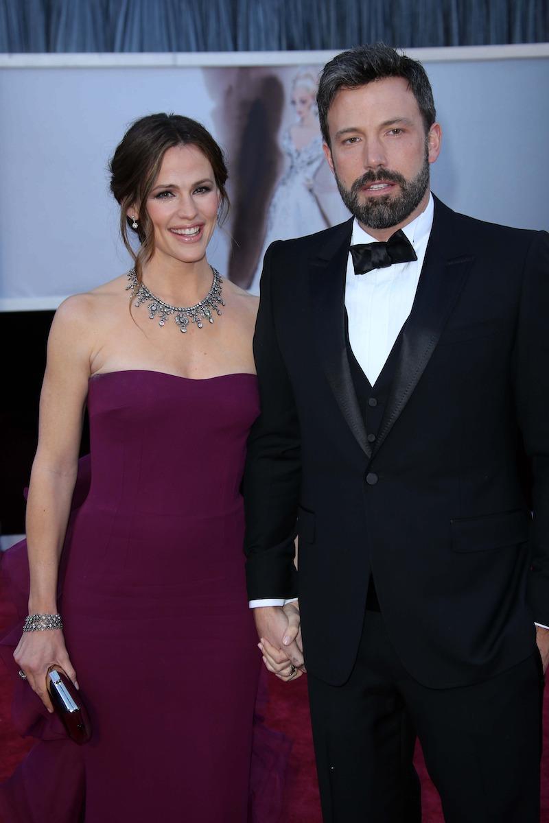 Jennifer Garner and Ben Affleck at the 2013 Oscars