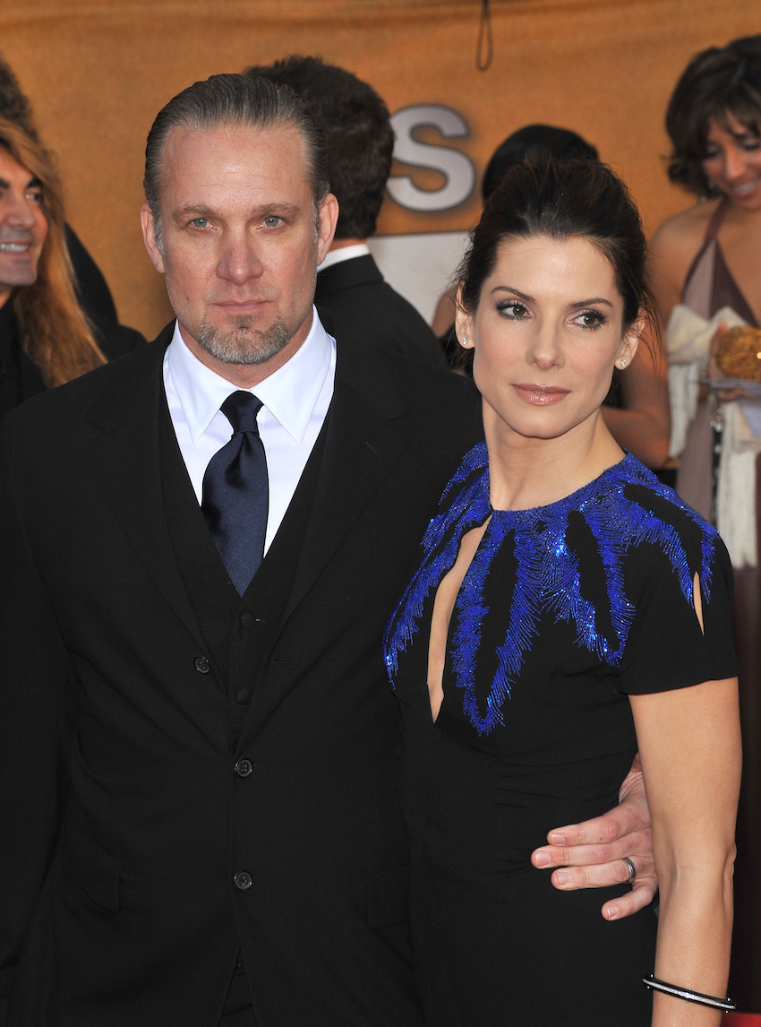 Jesse James and Sandra Bullock at the SAG Awards in 2010