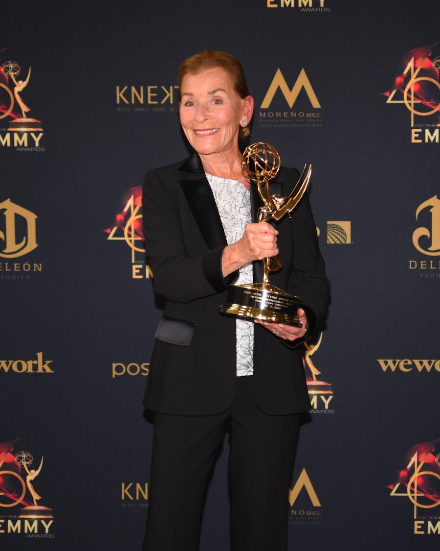 Judy Sheindlin at the 2019 Daytime Emmy Awards