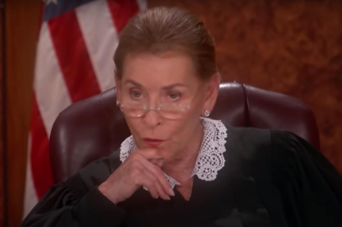 "Judy Sheindlin on ""Judge Judy"""