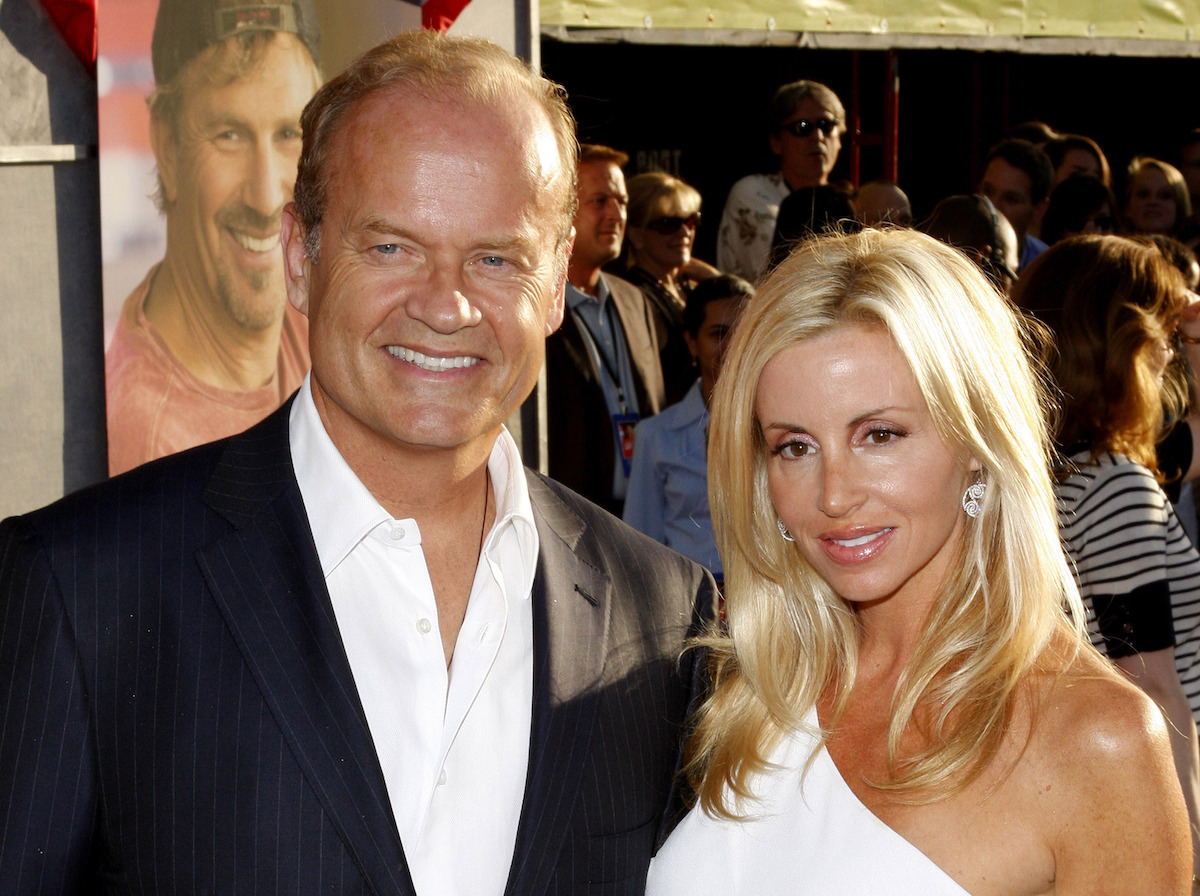 """Kelsey and Camille Grammer at the premiere of """"Swing Vote"""" in 2008"""