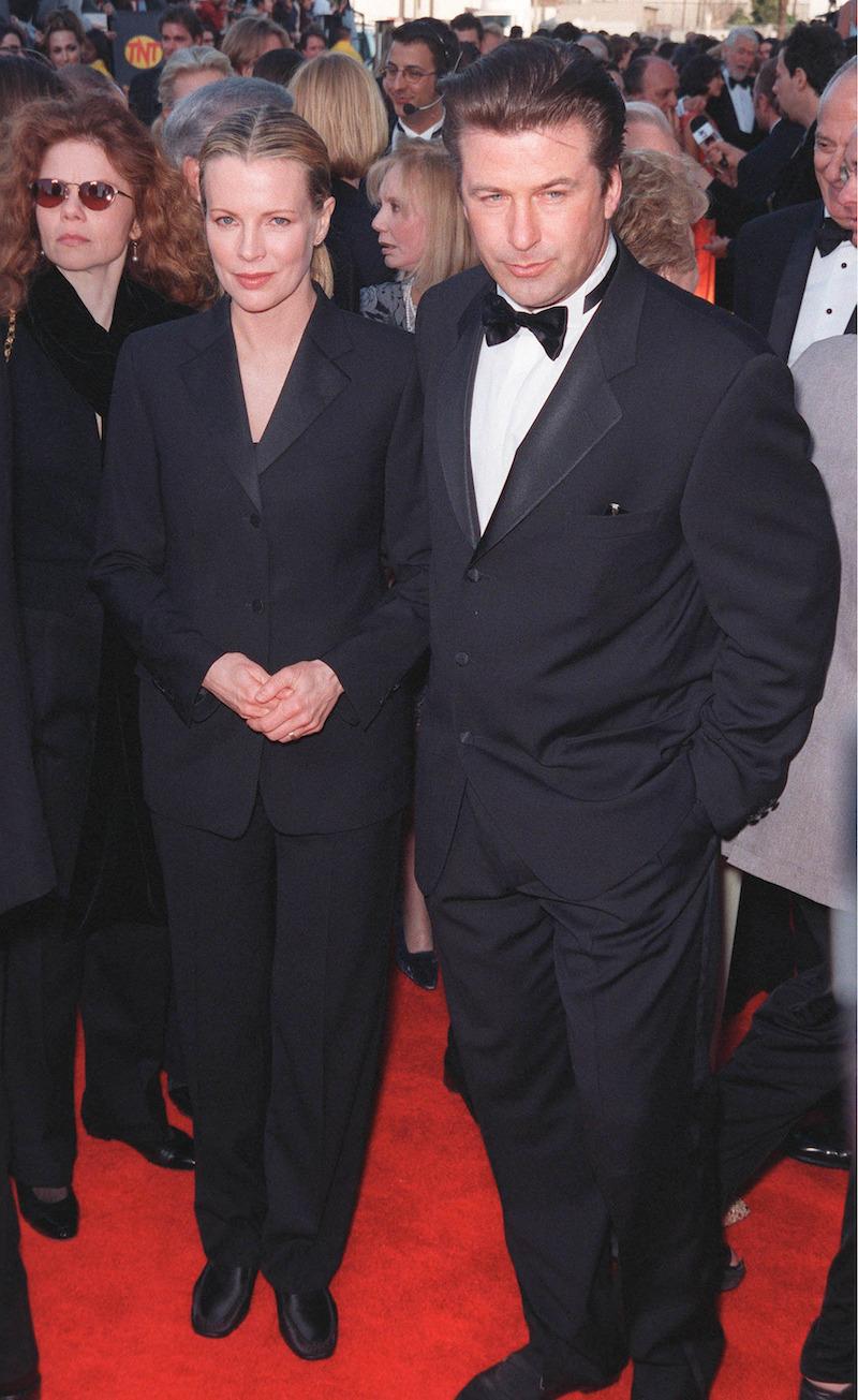 Kim Basinger and Alec Baldwin at the SAG Awards in 1999