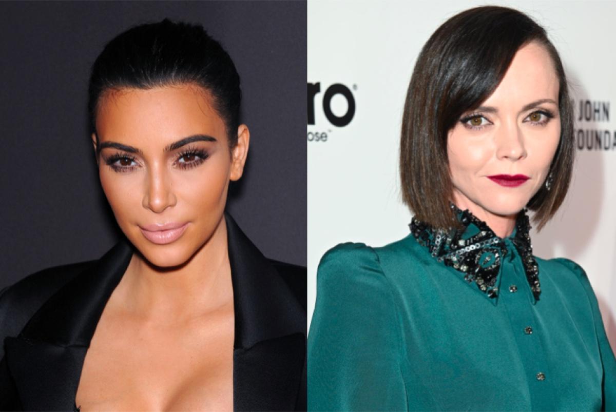 Kim Kardashian and Christina Ricci
