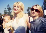 Kurt Cobain Courtney Love Frances Bean Cobain