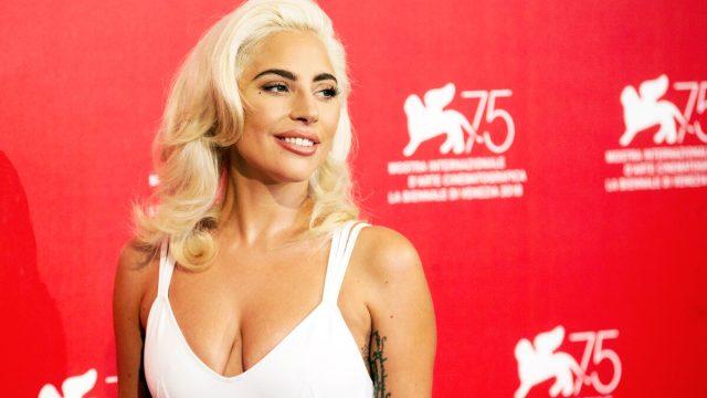 Lady Gaga at the Venice Film Festival in 2018