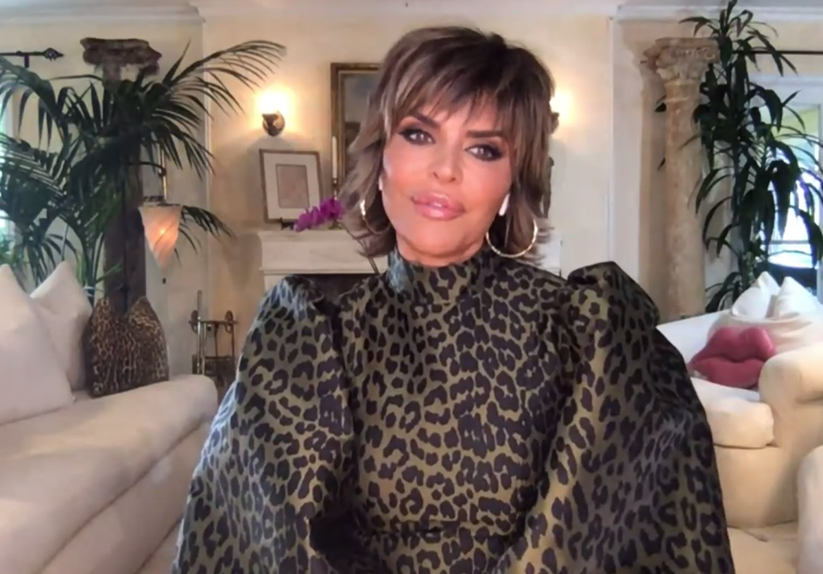 """Lisa Rinna on """"Watch What Happens Live"""" in May 2021"""